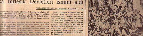 1919 – 2007 tarihleri arasındaki gazete özetleri