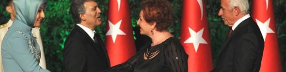 Nafi Güral ve Eşi Gülsüm Güral, Çankaya Köşkünde 30 Ağustos Resepsiyonuna Katıldı