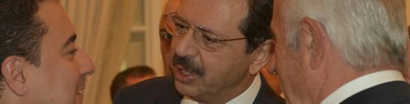 Nafi Güral, Başbakan Yardımcısı Ali Babacan'ın TOBB Ziyaretine Katıldı