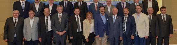 Nafi Güral, TOBB Strateji Geliştirme Yüksek Kurulu Toplantısına Katıldı