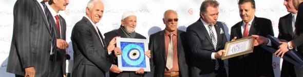 Türkiye'nin En Büyük Seramik Showroomu Nafi Güral'ın Katılımıyla Açıldı