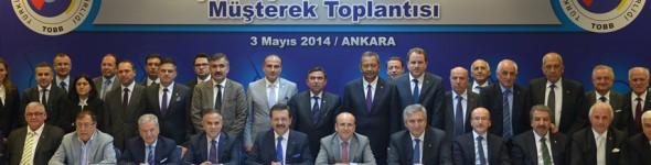 TOBB Yüksek Koordinasyon Kurulu Müşterek Toplantısı