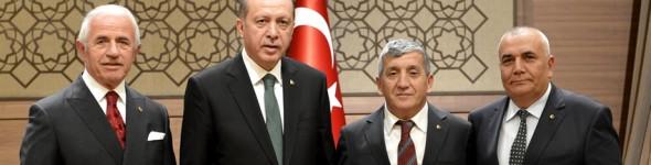Cumhurbaşkanı Sayın Recep Tayyip Erdoğan' a Ziyaret