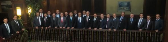Kütahya Heyetinden İl Milletvekillerine Ziyaret