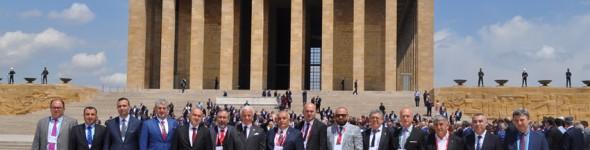 KUTSO Atatürk'ün Huzurunda